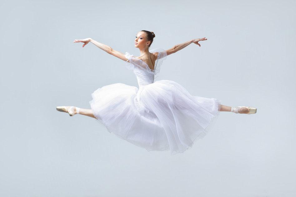 white dancewear